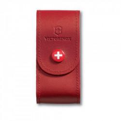 Victorinox - Funda de piel roja con botón para herramienta de 91 mm (5 a 8 capas) [4.0521.1] :