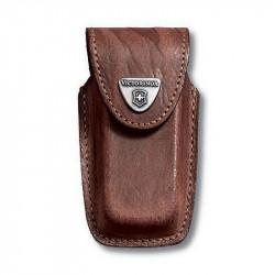 Victorinox - Funda de piel marrón para modelos 91 mm (5 a 8 capas) [4.0535] |