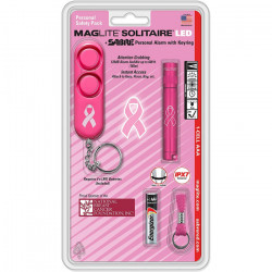 Mag-Lite Solitaire LED + SABRE Personal Alarm with Keyring [V0000832] |
