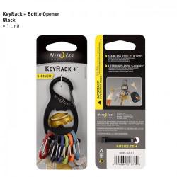 Nite-Ize - S-Biner KeyRack + Bottle Opener - 1 Pieza [KRB-03-01]