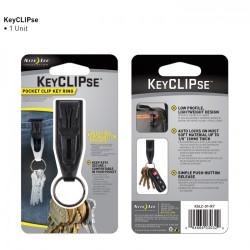 Nite-Ize - S-Binner KeyCLIPse - 1 Piezas [KSLC-01-R7]