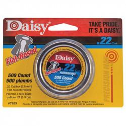 Daisy Diábolo Plano 500 pzas 5.5 mm (Cal. .22)