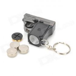 Llavero Pistola LED y Láser [912-41] …