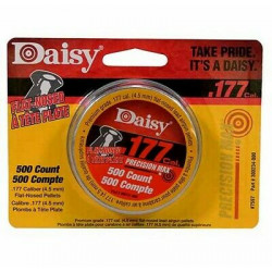 Daisy Diábolo Plano 500 pzas 4.5 mm   300233-446 .