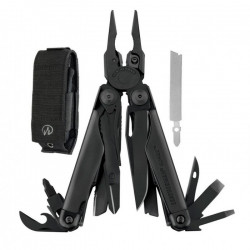 Leatherman Surge® Negra con funda Molle [LEA-005-032] .