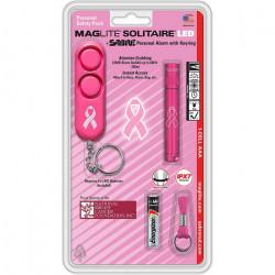 Mag-Lite Solitaire LED + SABRE Personal Alarm with Keyring [V0000832] |