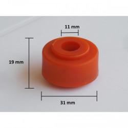 153 - Poliuretano - Goma de amortiguador # 43-R reforzada 20 mm